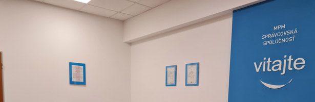 MPM SPRÁVCOVSKÁ SPOLOČNOSŤ otvára nové klientske centrum